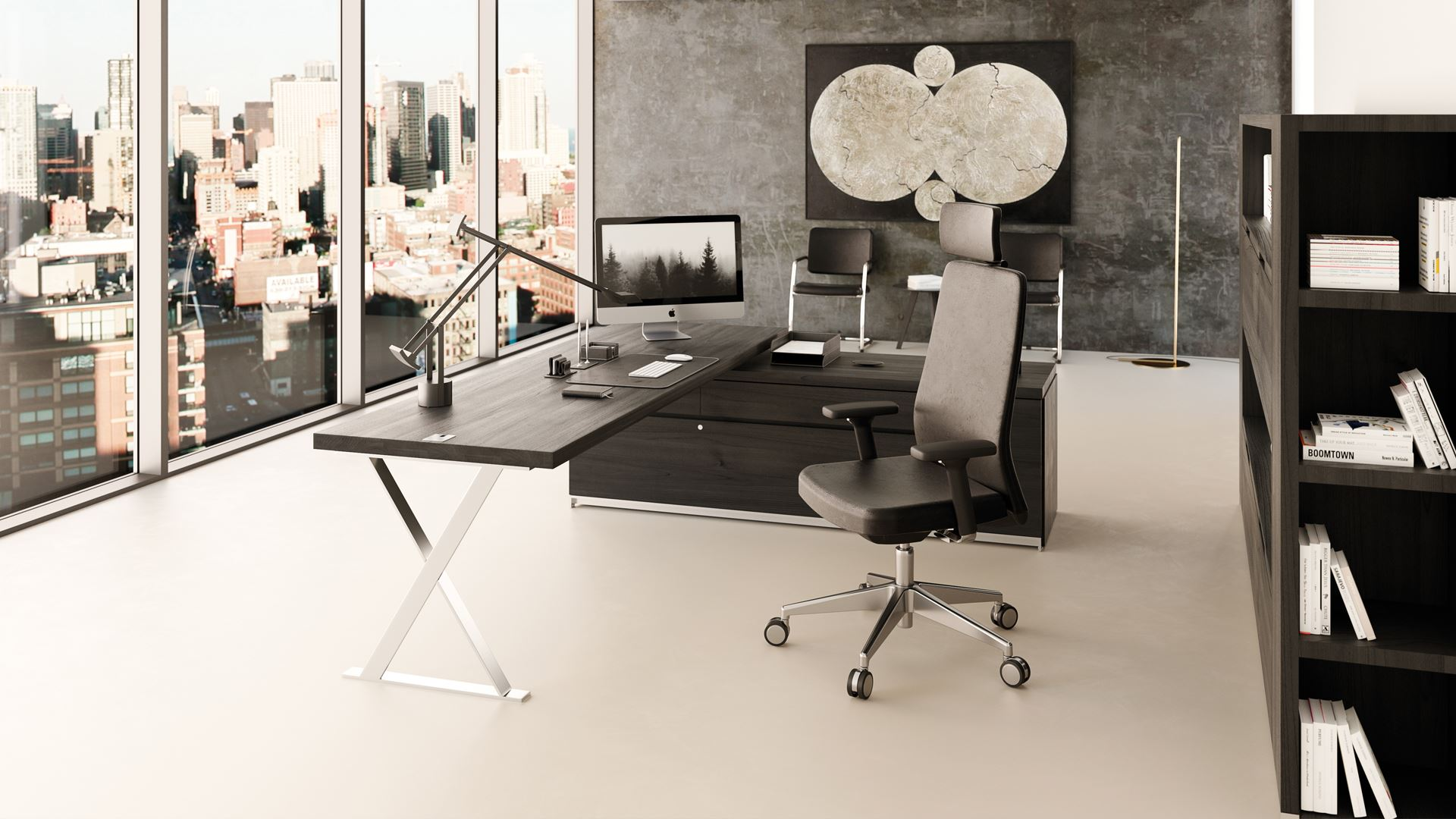 Liz, the innovative, ergonomic model featuring customisable upholstery