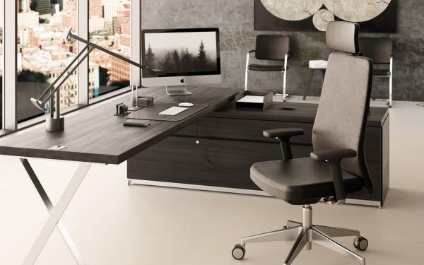 Liz, the innovative, ergonomic model featuring customisable upholstery