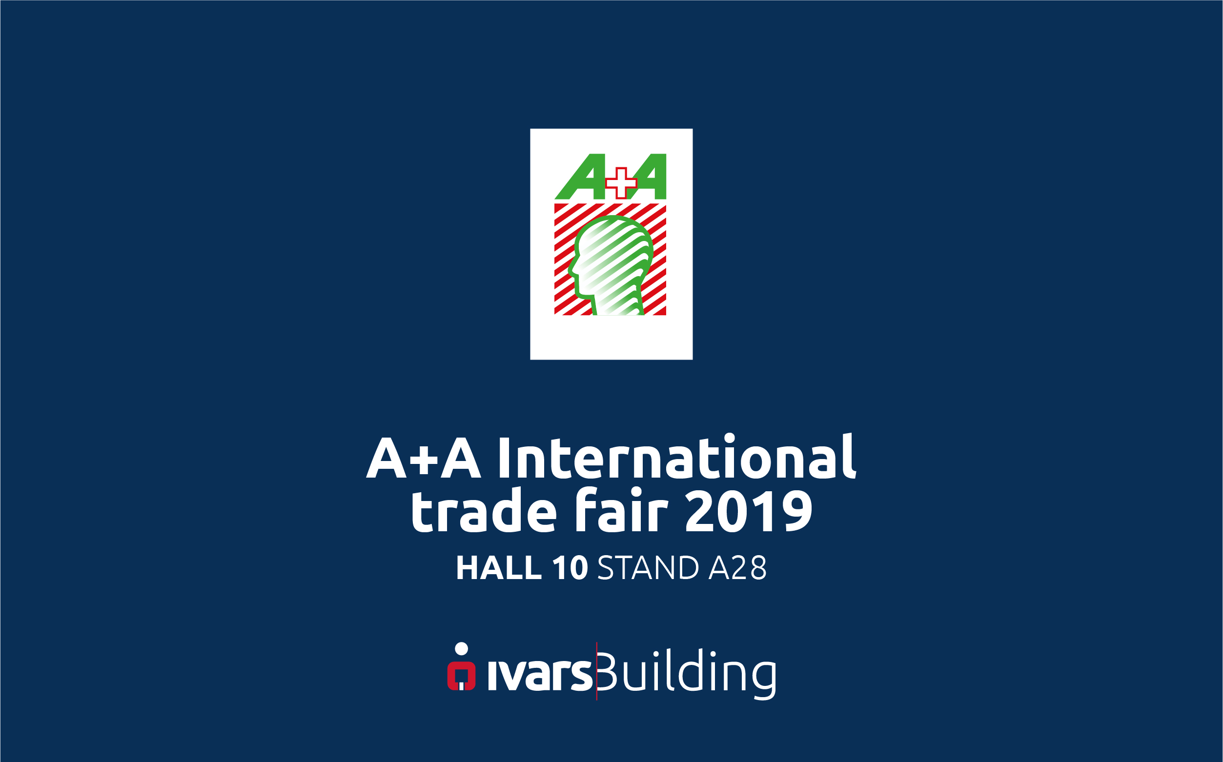 Ivars Building will be present at the A+A