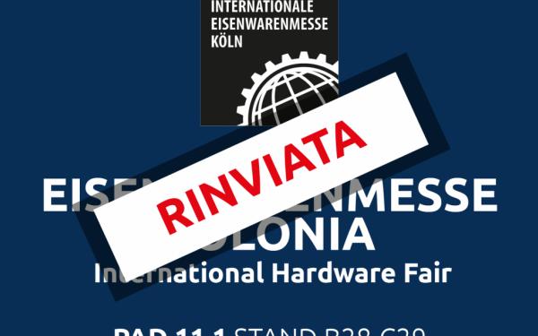 Eisenwarenmesse Colonia riprogrammata per febbraio 2021