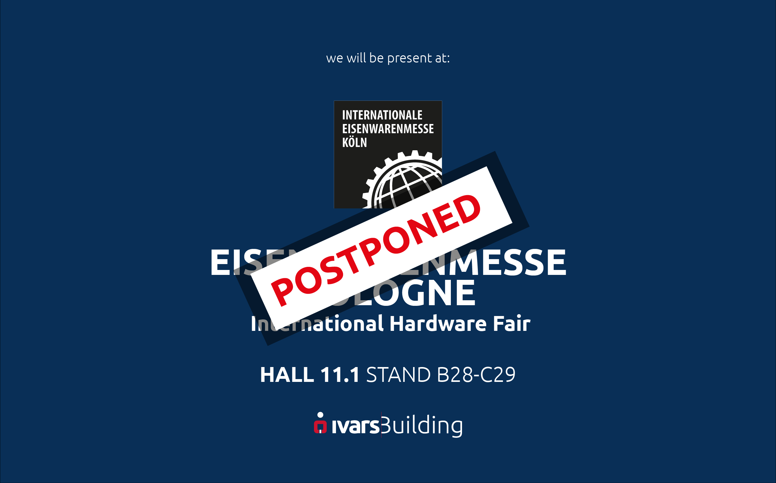 Eisenwarenmesse Cologne rescheduled for February 2021